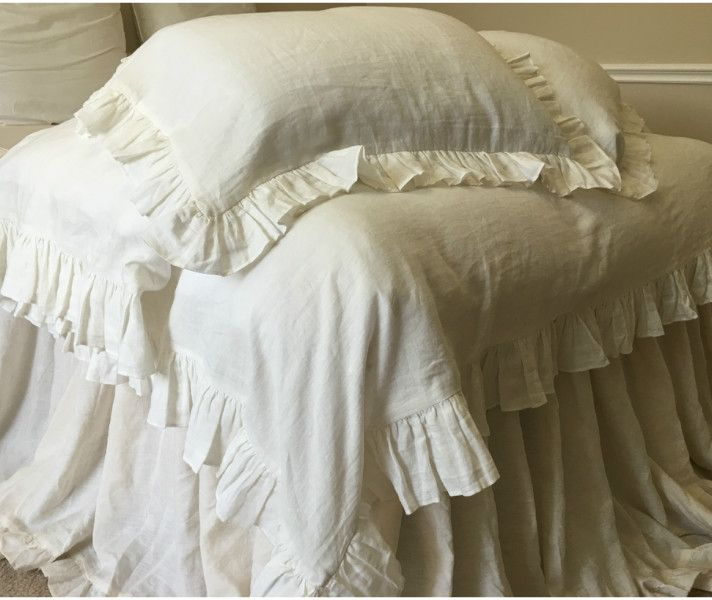 piece count cover edge duvet amazon white thread king cotton com dp egyptian kitchen home ruffle