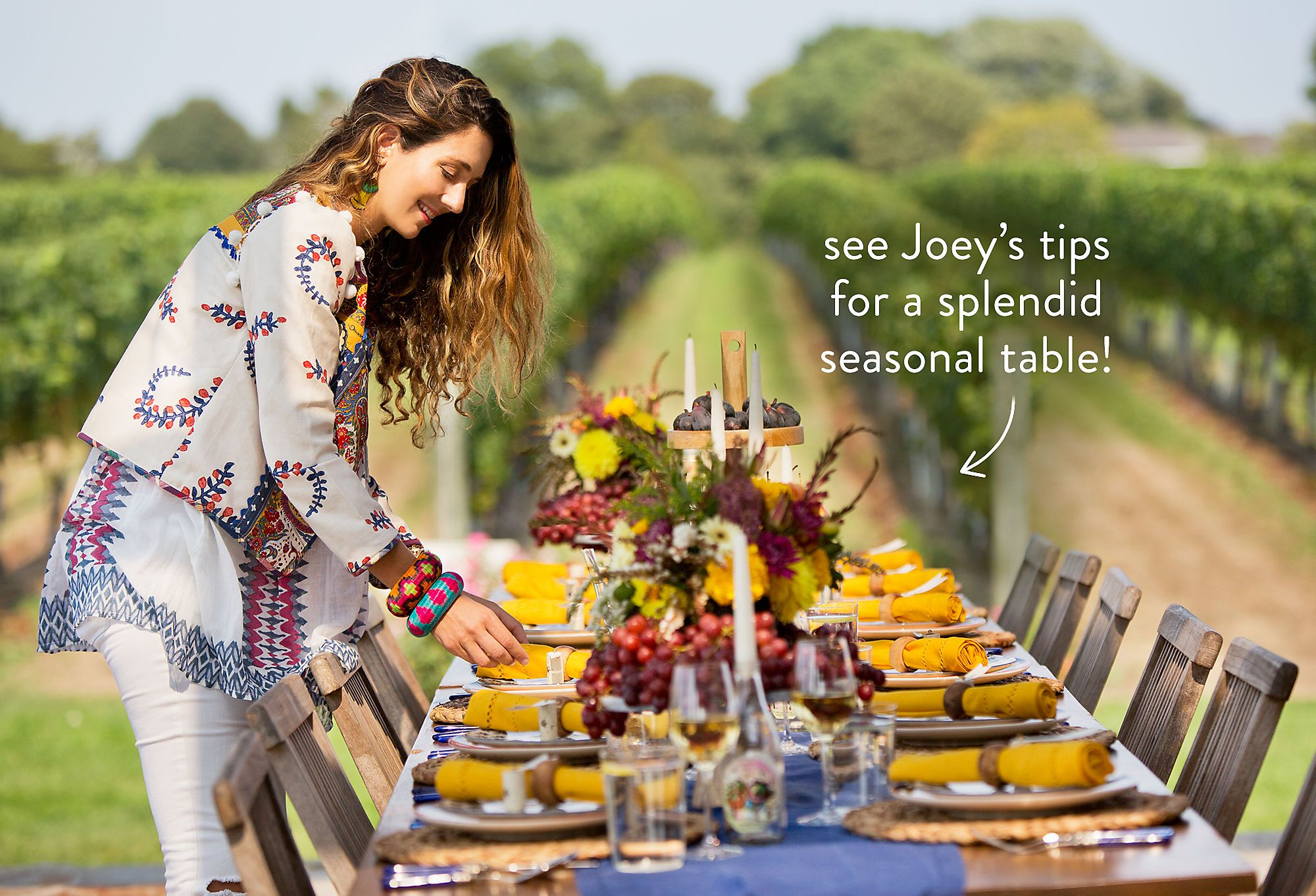 A Free-Spirited Affair: Autumn Alfresco with Joey Wölffer
