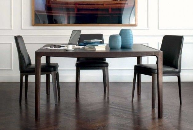 saturno dining table by natuzzi italia natuzzi. Black Bedroom Furniture Sets. Home Design Ideas