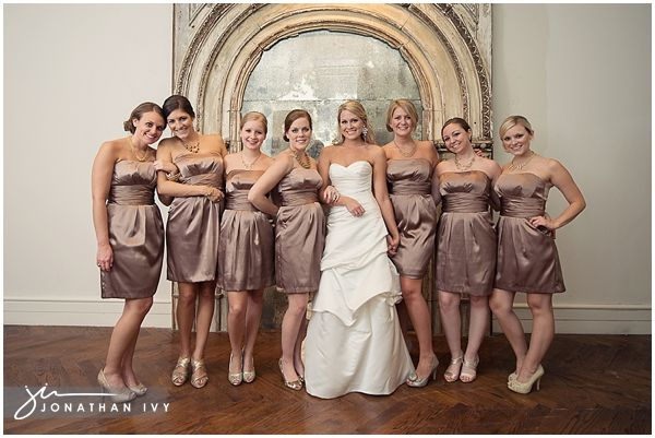 Bronze bridesmaid dresses... hrmmm | Wedding | Pinterest | Bronze ...
