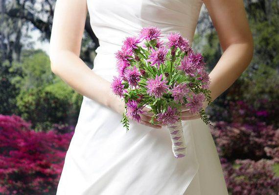 Wedding flowers bridal bouquet of silk thistles wedding bouquets wedding flowers bridal bouquet of silk thistles wedding bouquets mightylinksfo