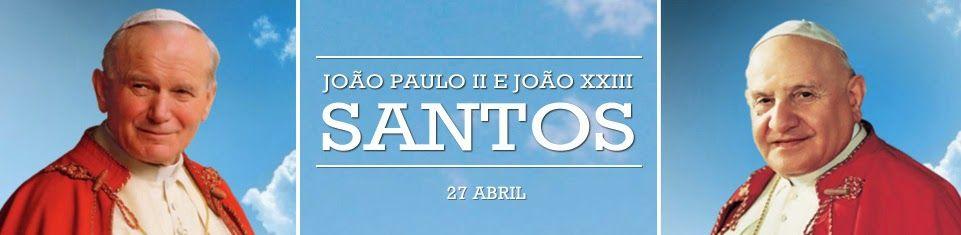No Encontro...: Notícias: Vaticano News - hashtag #2POPESAINT