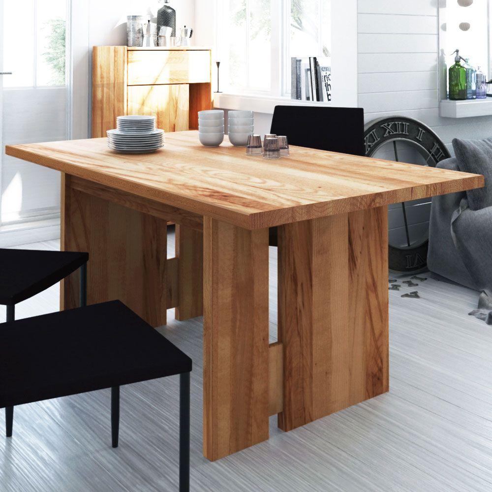 Luxus moderne esszimmer sets wangentisch aus kernbuche massiv ausziehbar jetzt bestellen unter
