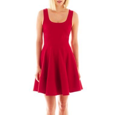 S.H.E. Sleeveless Flared Dress  found at @JCPenney
