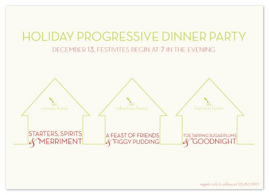 progressive dinner party by sweet street gals party ideas