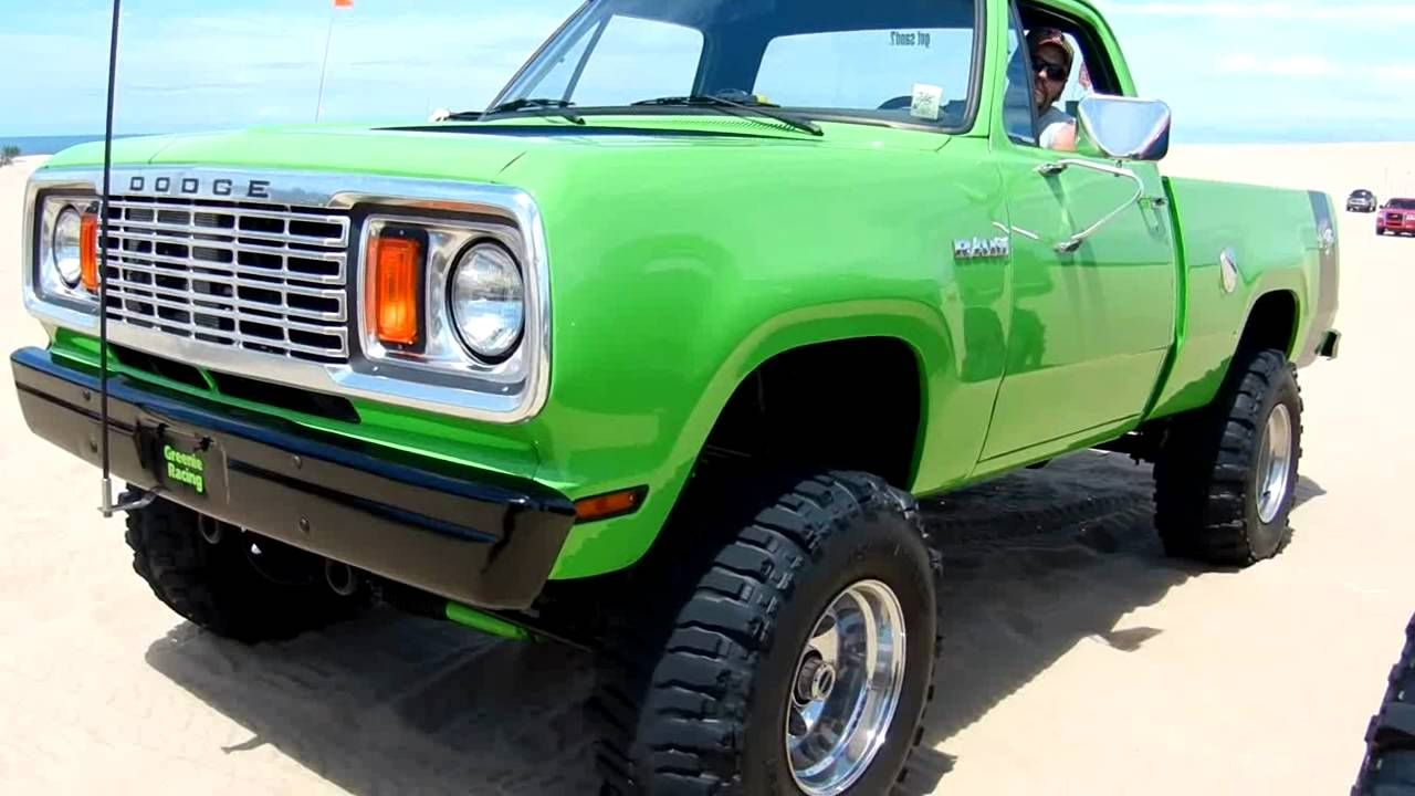 green dodge superbee truck silver lake 2011 [ 1280 x 720 Pixel ]
