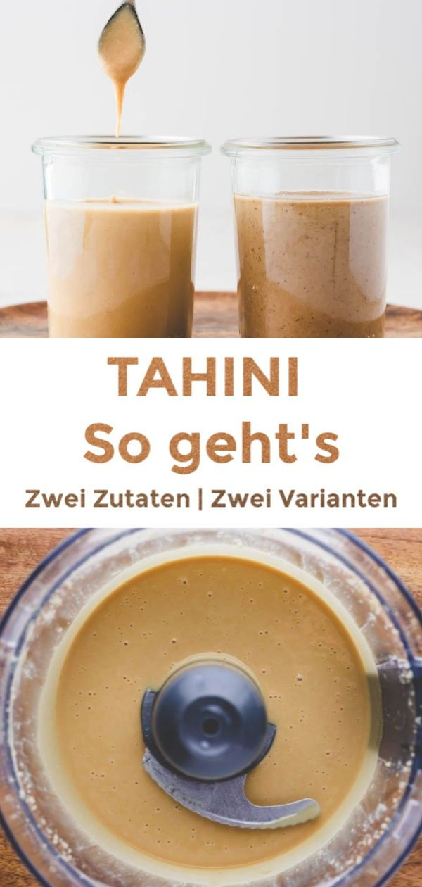 Tahini Paste | 2 Varianten