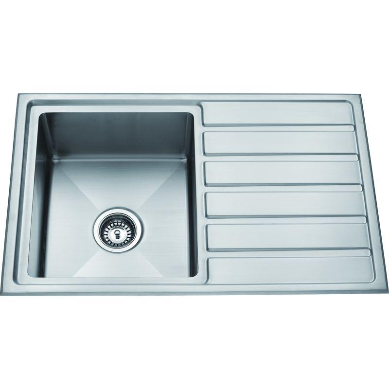 Zen Sink Insert U0026 Drainer 800x500mm Stainless Steel