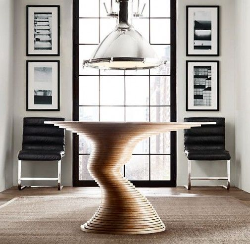 spiral table coolness