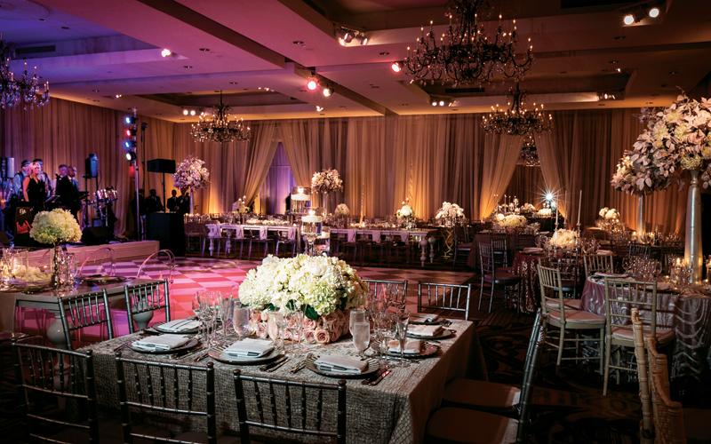 A Wedding With Ballroom Elegance Bethesda Magazine November