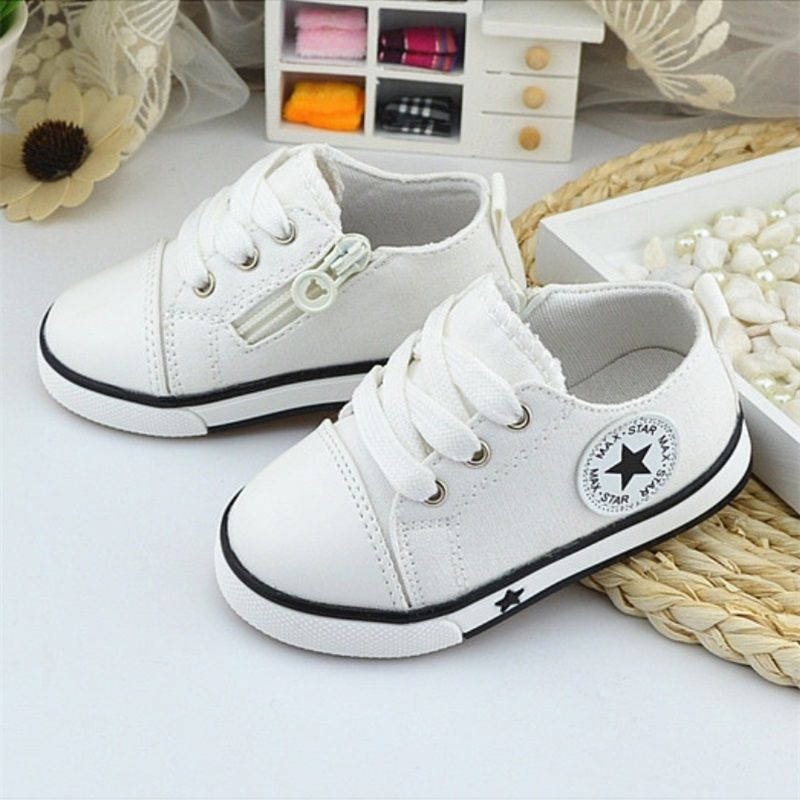 Boys 4 Baby 1 Canvas Breathable New Old Shoes Years 3 Aw8qxgZ