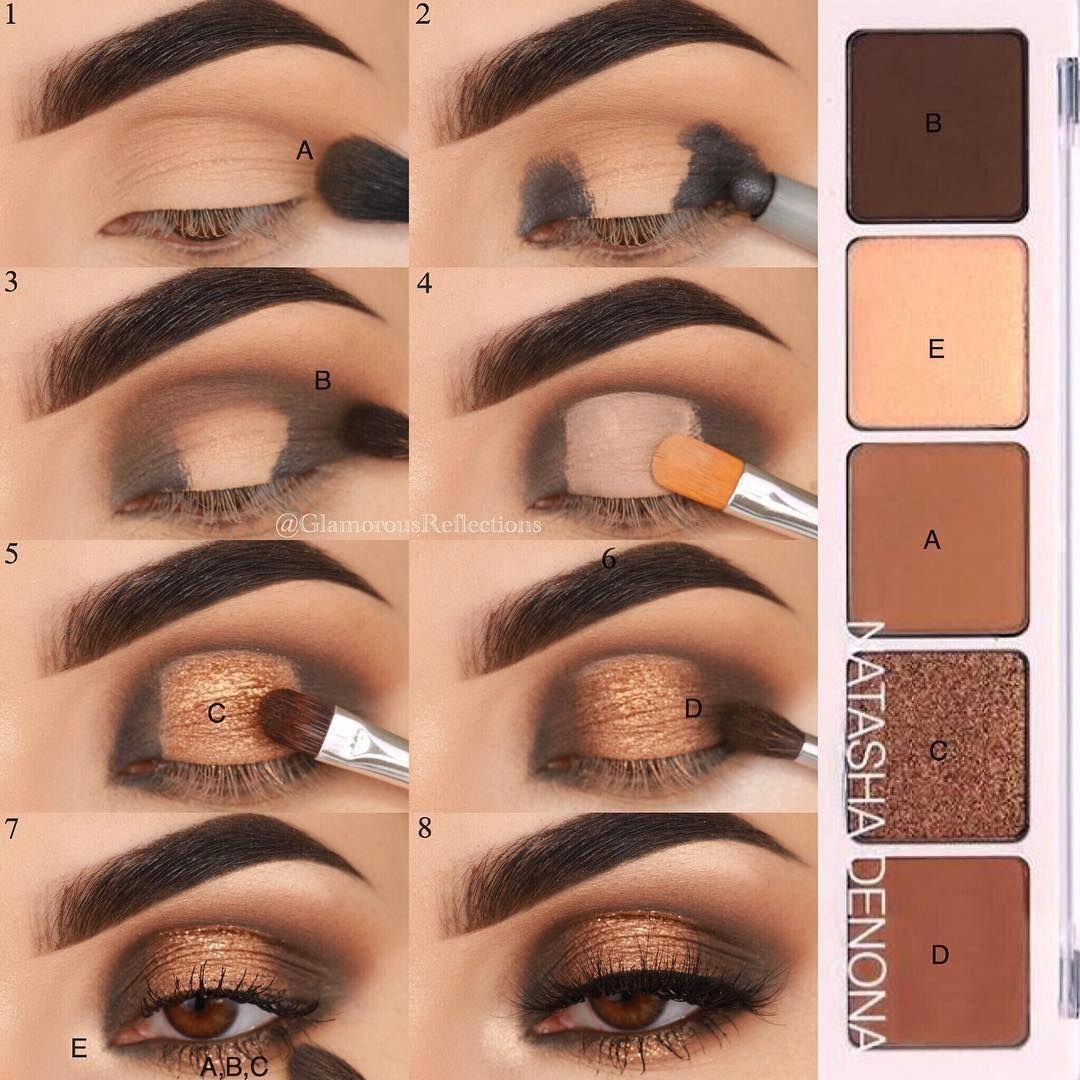 Natural Eye Makeup Tutorial For Dark Skin Eyemakeupgreen In 2020