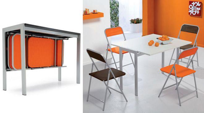 Avete una cucina piccola? Ecco i tavoli salvaspazio | CoseDaDonna ...