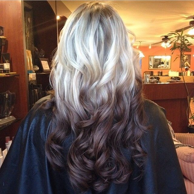 Hair Color Trends 2017 2018 Highlights Brown Reverse Ombr In