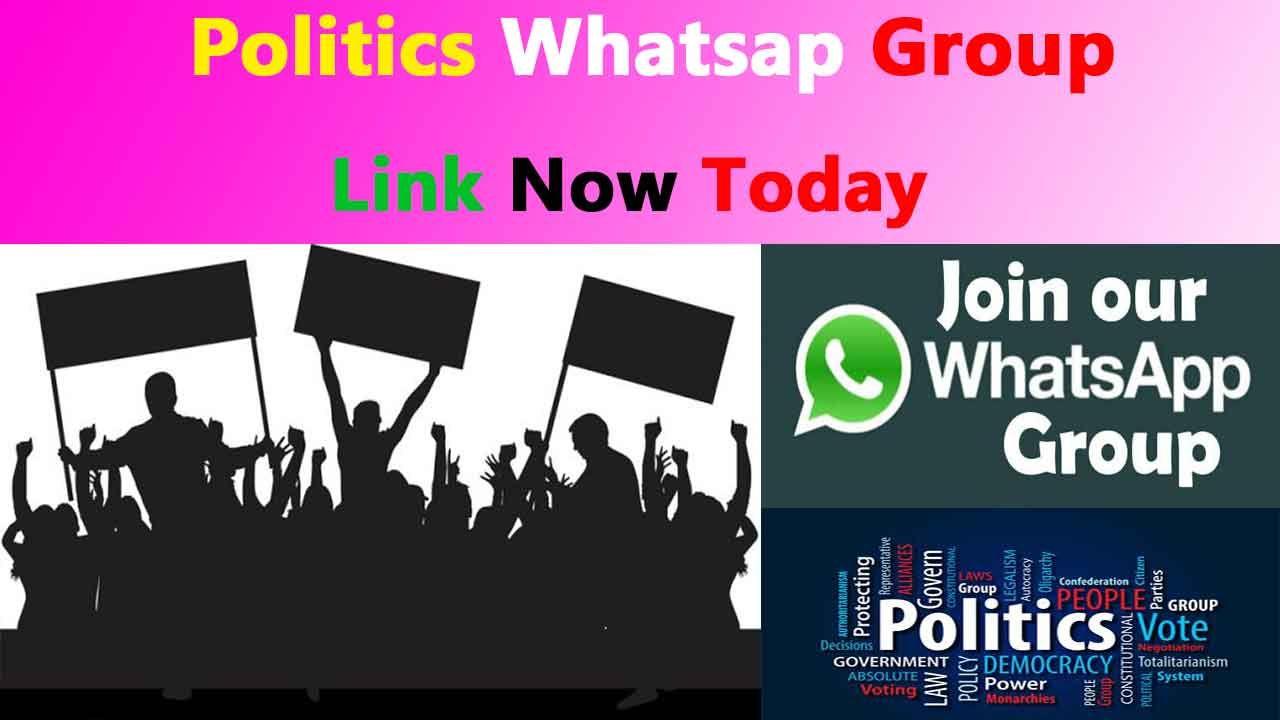 Politics GBWhatsapp Group Link latest Join Now -ZigBrado in