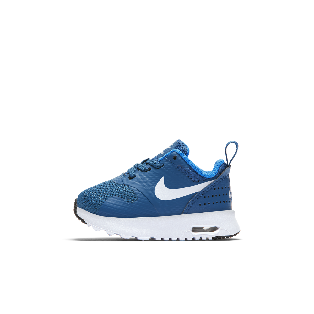 14a80e94bb4169 Nike Air Max Tavas Infant Toddler Shoe Size 10C (Blue)