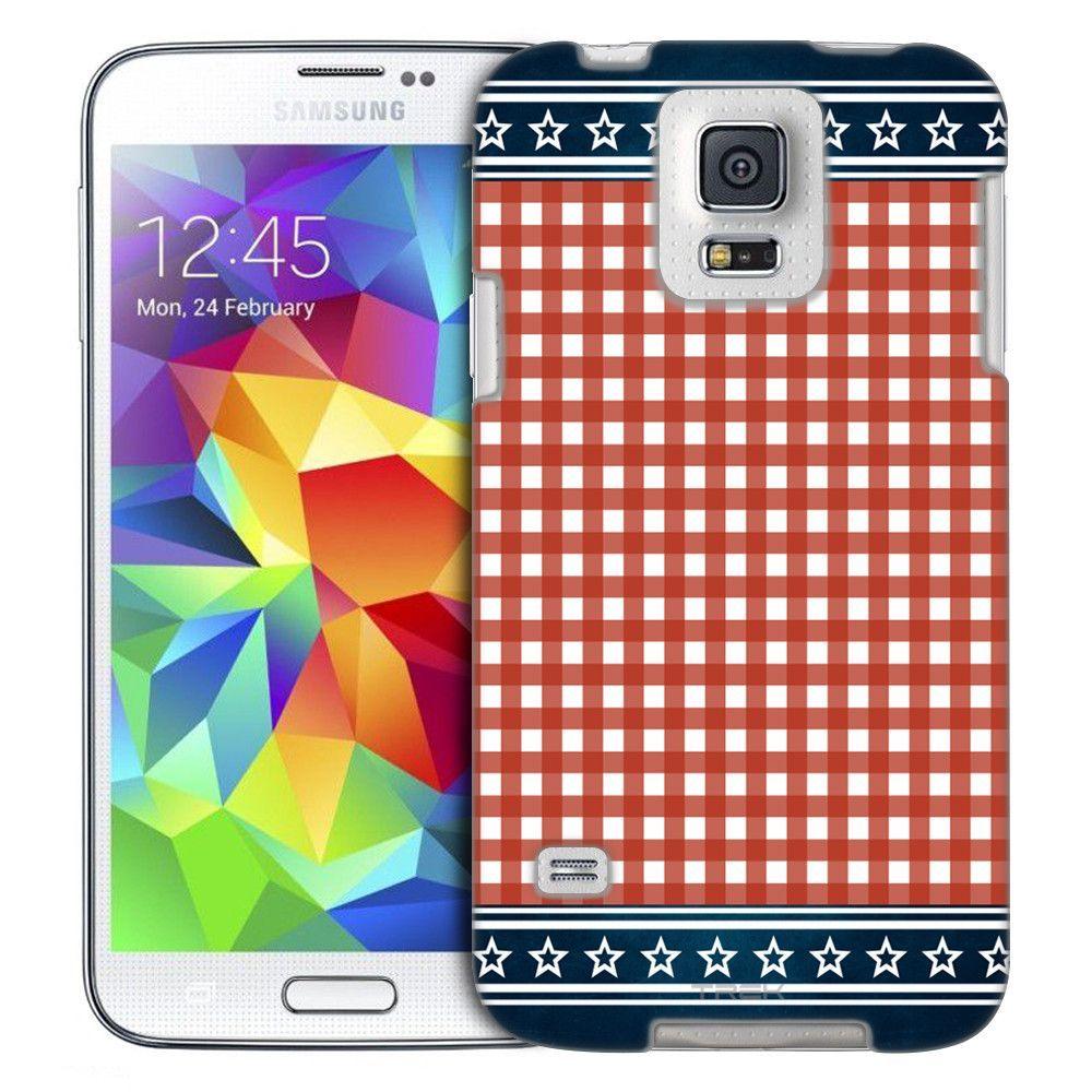 Samsung Galaxy S5 Patriotic Picnic Blanket Slim Case