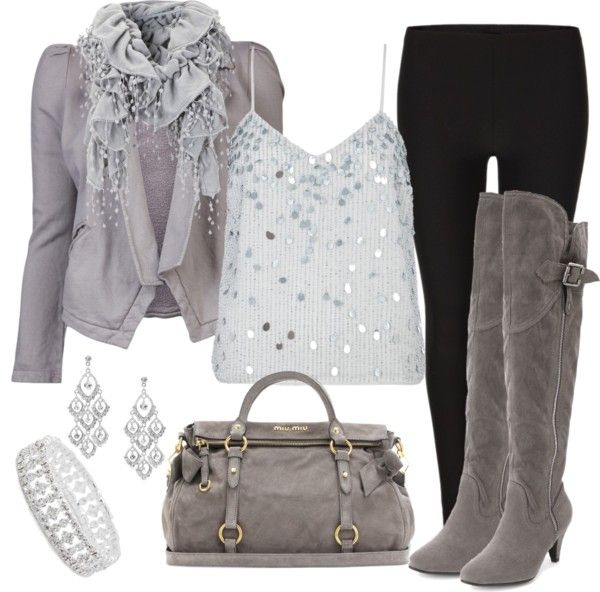 """""""Every Silver Lining's Got a Touch of Grey"""" by debbie-probst on Polyvore"""