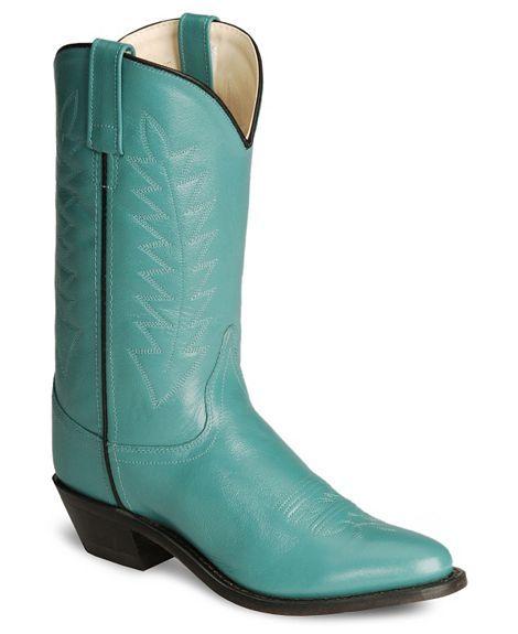 Old West Corona Cowgirl Boots - Medium Toe