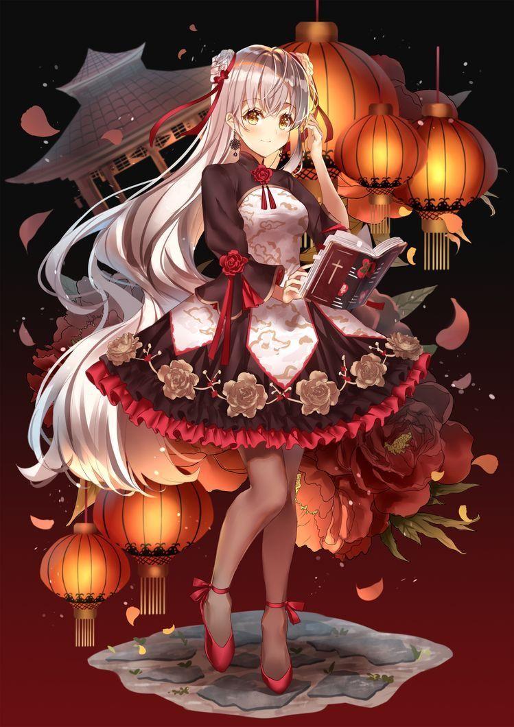 Pin Von Pubi Auf Anime Kawaiii Bilder Lilien Panzer