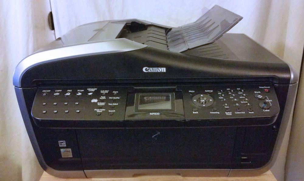 Canon pixma mp830 allinone inkjet printerscannercopier