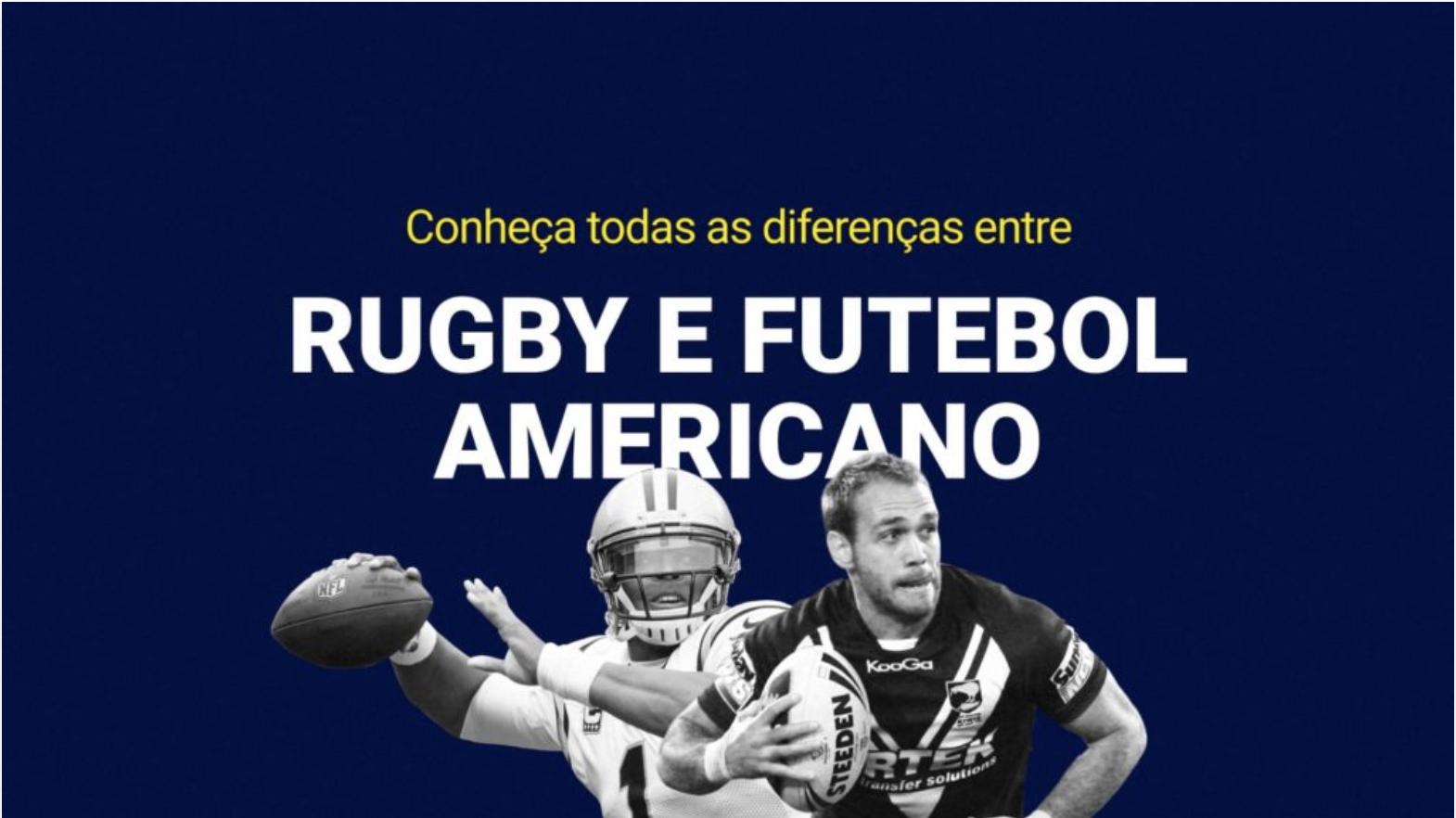 Conheca Todas As Diferencas Entre Rugby E Futebol Americano Futebol Americano Rugby Futebol