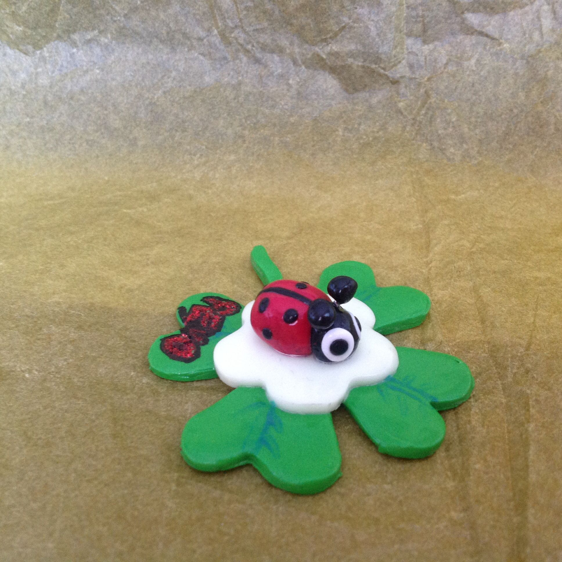 Fimo ladybird