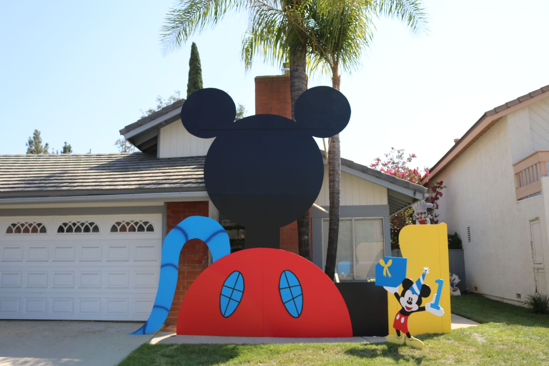 Mickey Mouse Clubhouse Party Props