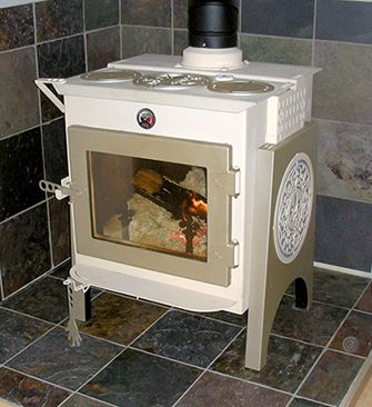 Ideal Steel Hybrid Woodstove  Beautiful Woodstove (but A Little Big For A  Small