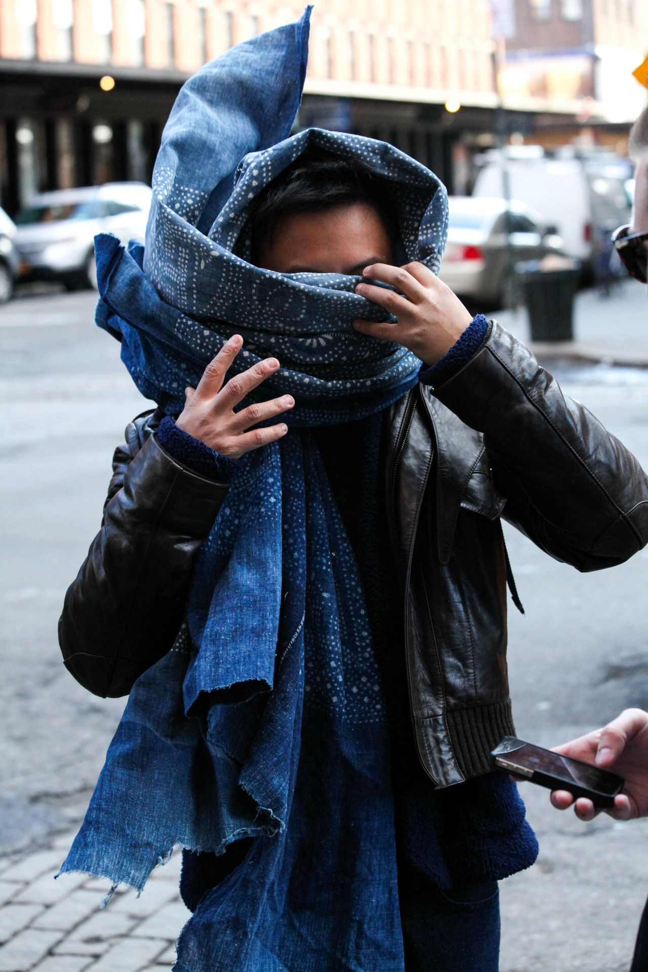 Watch - How to infinity wear scarf tumblr video