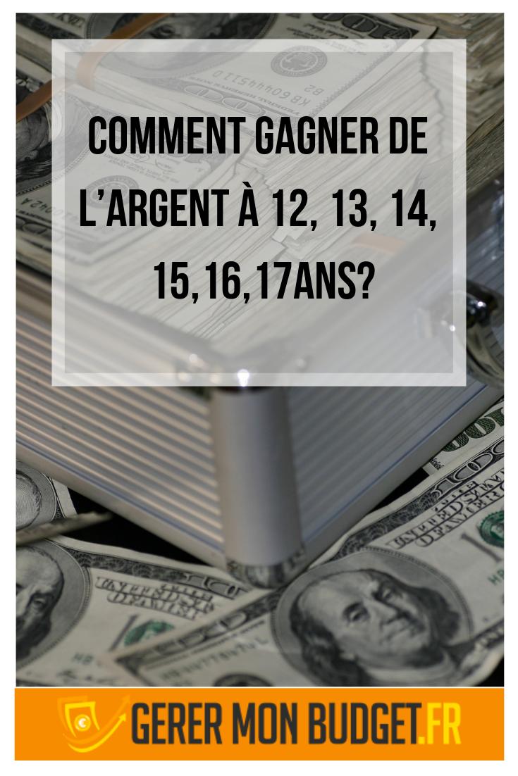 Gagner De L'argent Mineur : gagner, l'argent, mineur, Comment, Gagner, Largent, Internet, Sondage, L'argent, Succombez, Méthodes