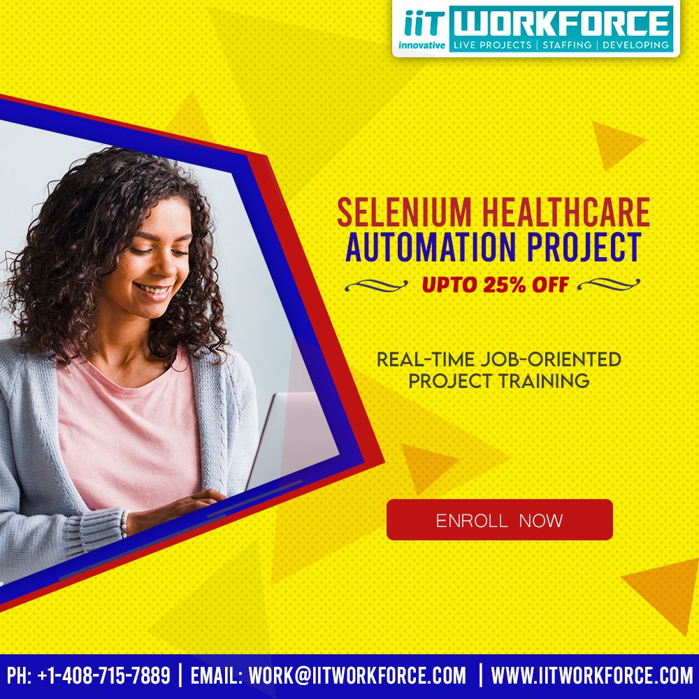 Learn selenium healthcare automation project in 2020