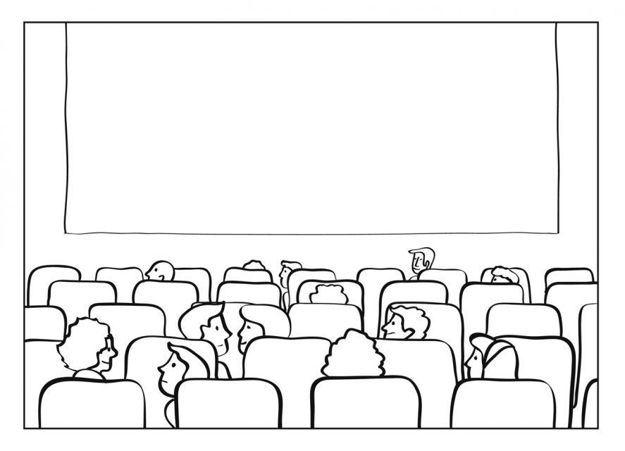 картинки кинотеатра распечатать машина давно