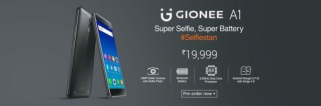 42e67946a Gionee A1 Price in India