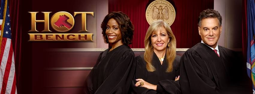 Hot Bench With Judges Tanya Acker Patricia Dimango And Larry Bakman First Aired In 2014 Tv Judges Judge Tv Actors