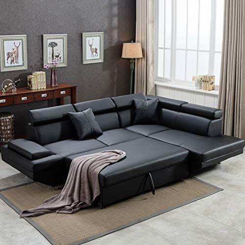 Sofa Sectional Sofa Bed futon Sofa Bed Sofa for Living Room Couches and Sofas Sleeper Sofa PU Leather Sofa Set Corner...