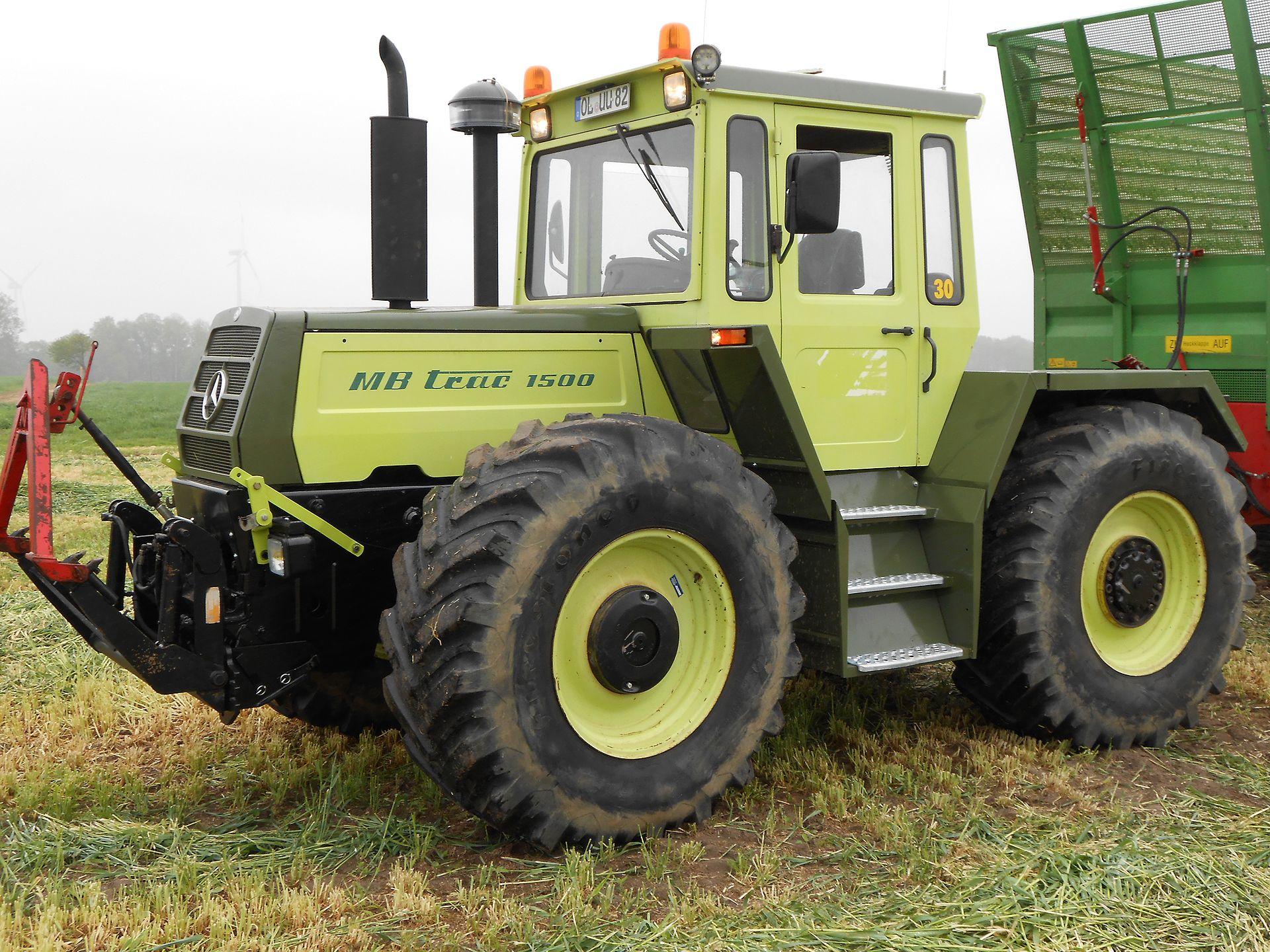 mercedes benz mb trac 1500 tractor mania. Black Bedroom Furniture Sets. Home Design Ideas