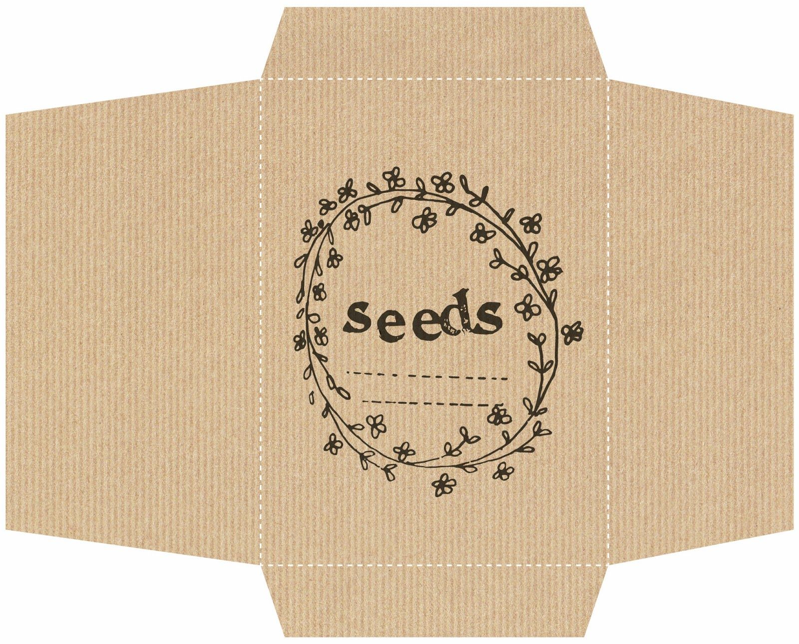 We Made This Home Diy Seed Packets Diy Seed Packets Seed
