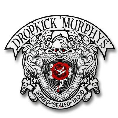 Image Dropkick Murphys Signed Sealed Embroidered Back Patch Custom Embroidered Patches Embroidered Patches Patches