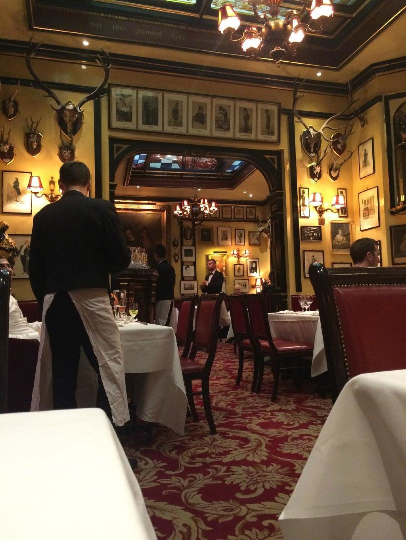 A Featured On Downton Abbey Rules Restaurant London Traveller Reviews Tripadvisor