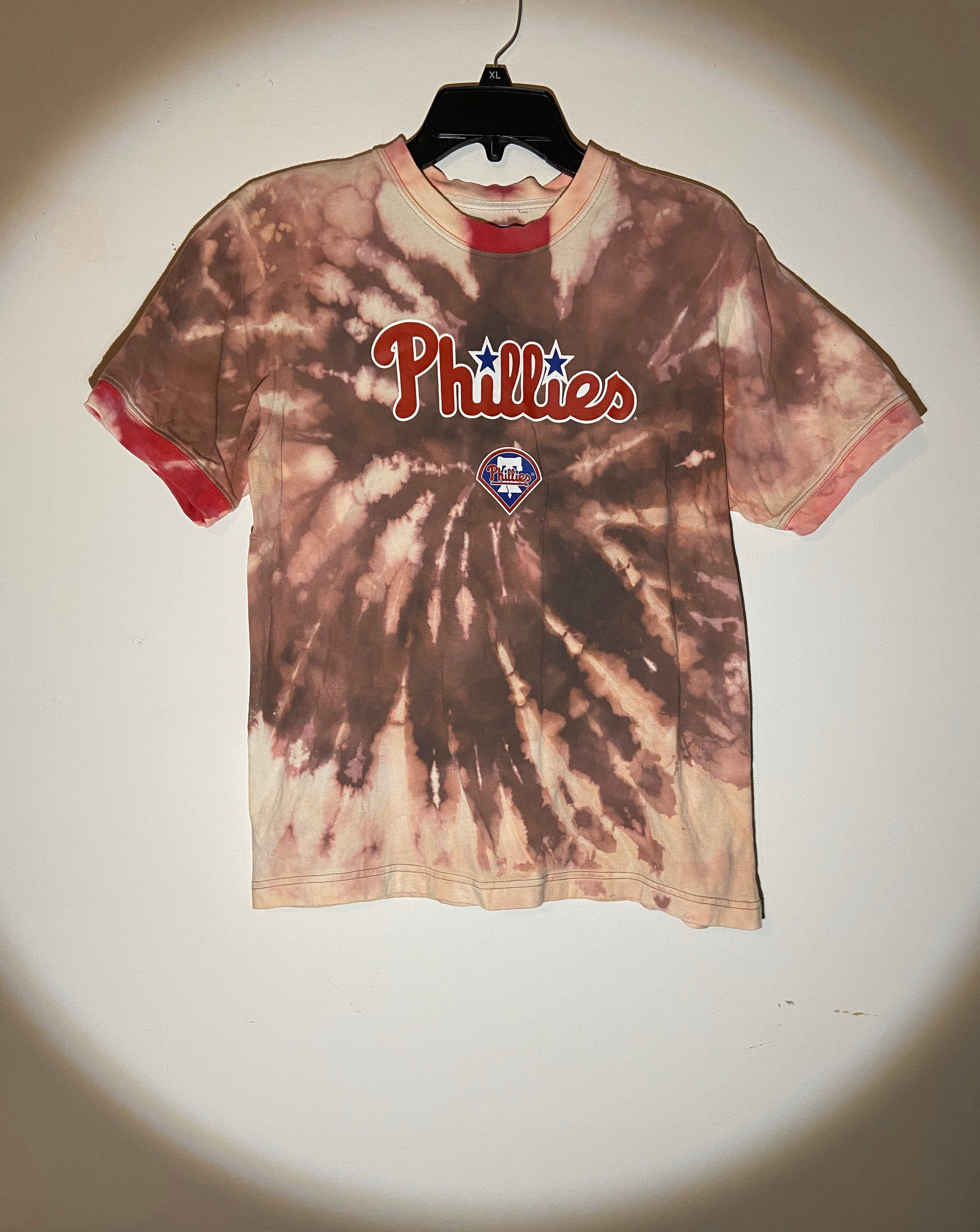 Kids Upcycled Thrifted Tie-Dye T-Shirt
