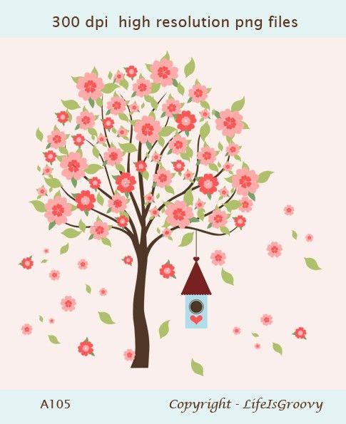 flowering tree clipart - photo #38
