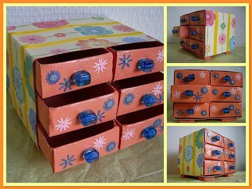 اوعى ترمى علب الكبريت Decorative Boxes Handmade Gift Wrapping