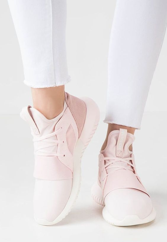 ADIDAS Women's Shoes - Adidas Women Shoes - Adidas Tubular Defiant Pink  Leisure Running Sports Shoes - We reveal the news in sneakers for spring  summer 2017 ...