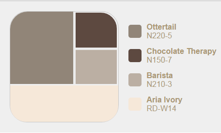 Behr Ottertail Colors Exterior Paint Bedroom