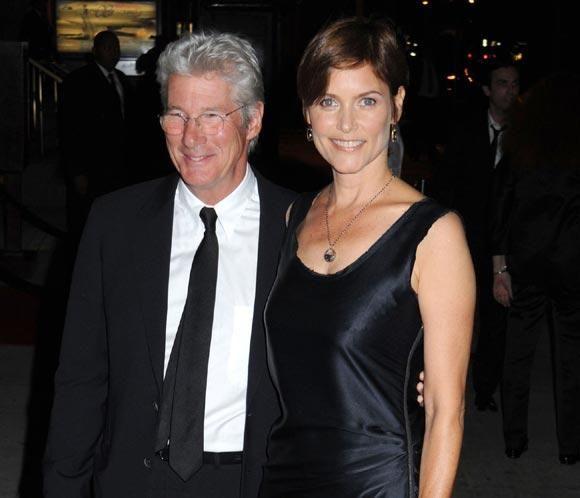 Richard Gere y Carey Lowell se divorcian tras 18 años juntos