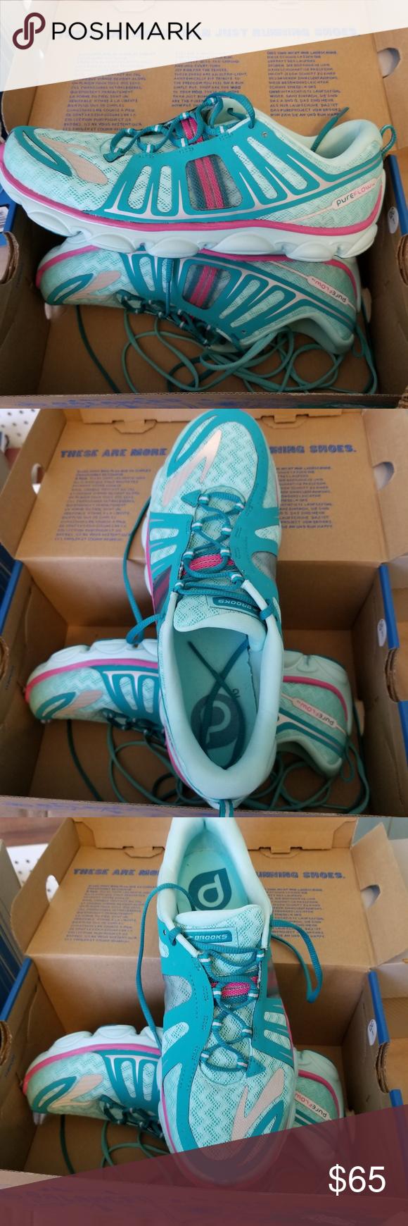 370ceb8c1db Brooks Kids Pure Flow 2 Size 6.5 Brand new! Brooks Kids Pure Flow 2 Youth  Size 6.5 Brooks Shoes Sneakers