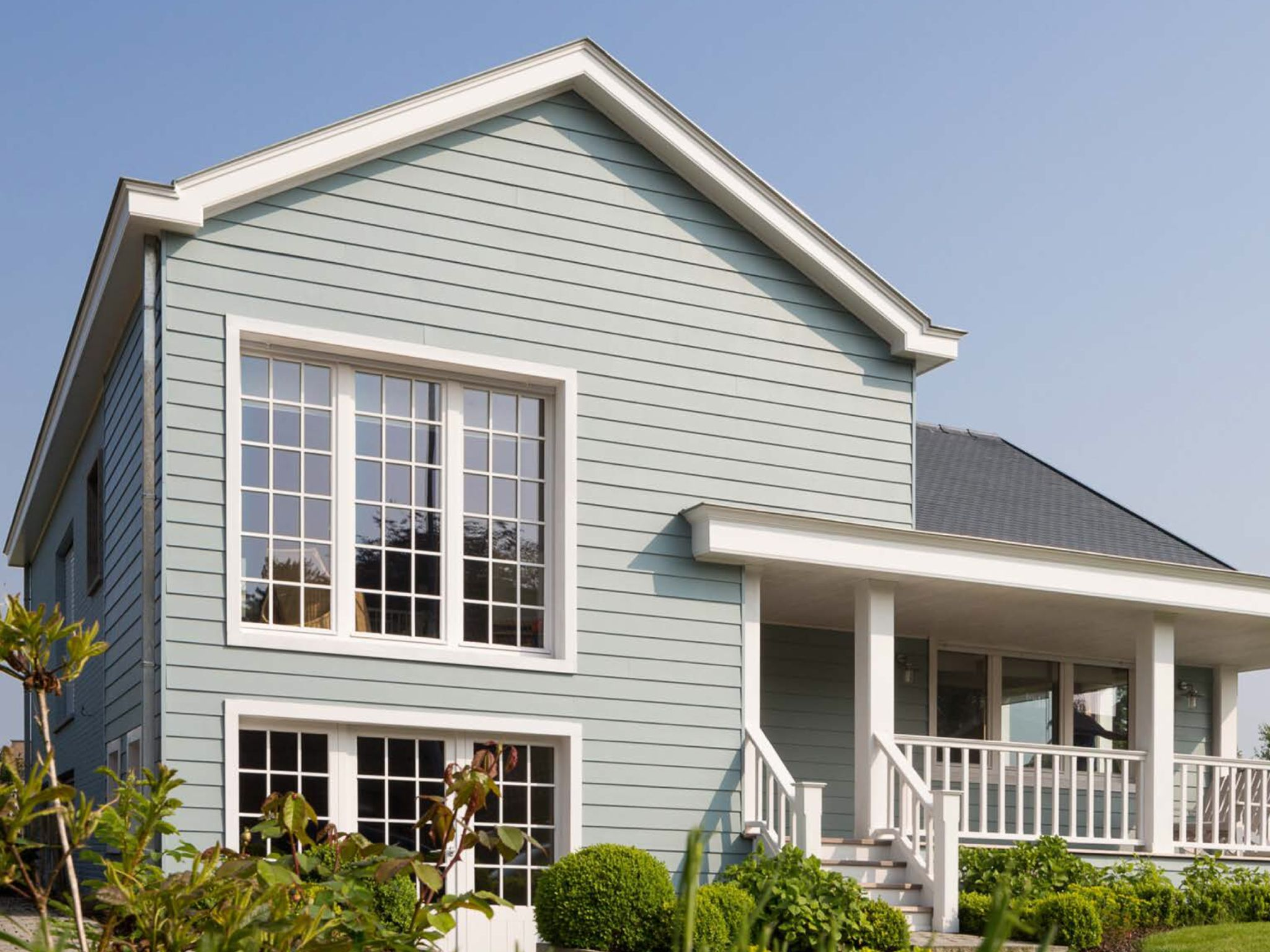 Nice installation of Cedral Weatherboard | Eternit CEDRAL | Pinterest