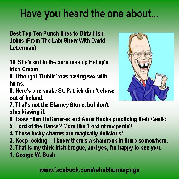Adult irish joke