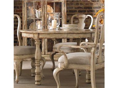 Wakefield Round Leg Dining Table W 1 21 Leaf Round Dining Table Distressed Dining Table Dining Chairs